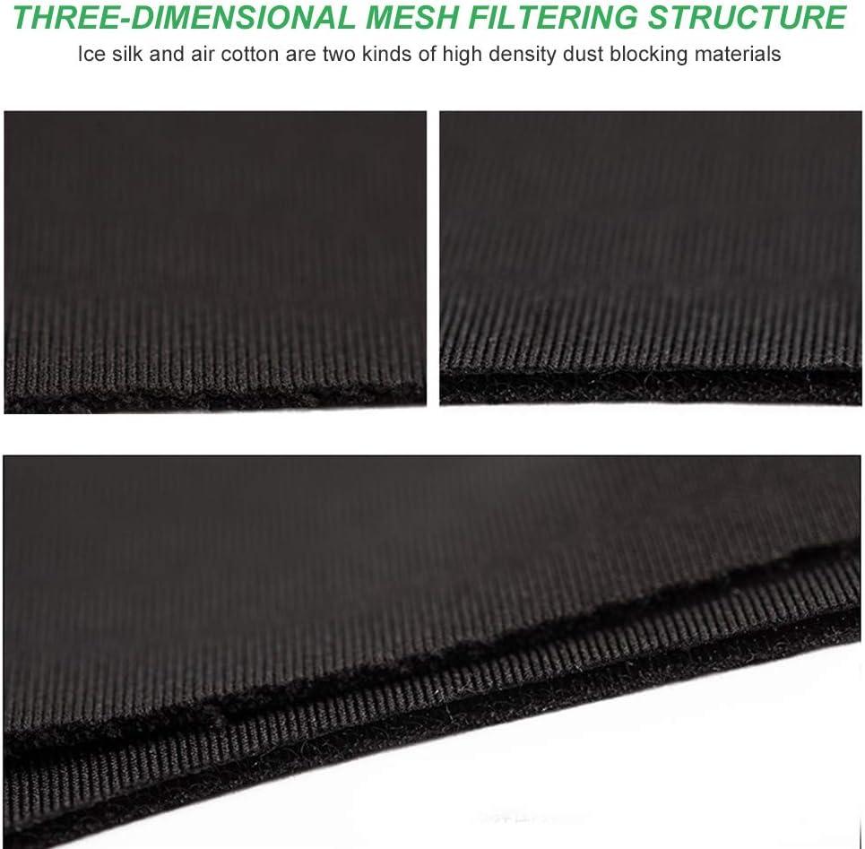 Transpirable c/álida Einsgut M/áscara antivaho Tridimensional el/ástica a Prueba de Polvo