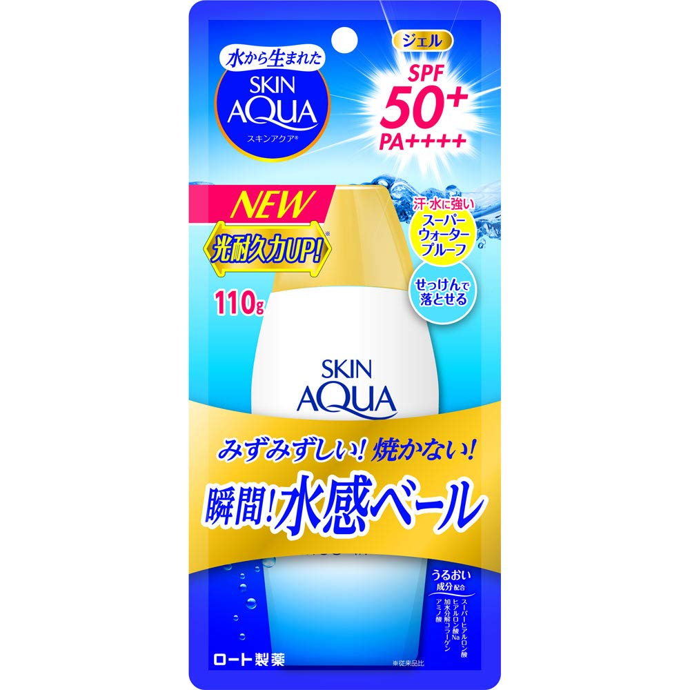 Rohto SKIN AQUA UV Super Moisture Gel 110g SPF50 / PA