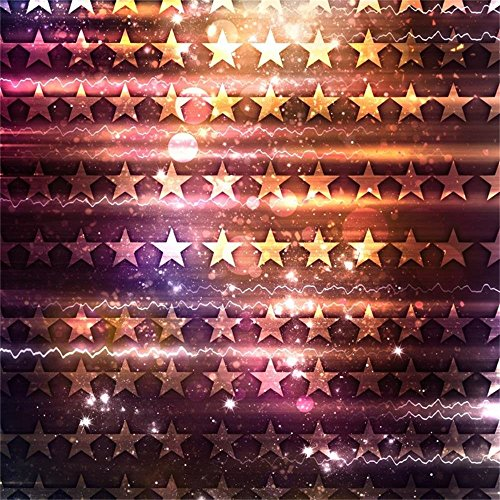 AOFOTO 7x7ft Fantasy Stars Background Magic Power Light Sorcery Abstract Halos Photography Backdrop Halloween Party Decoration Photo Studio Props Kid Baby Children Boy Girl Portrait Vinyl Wallpaper -