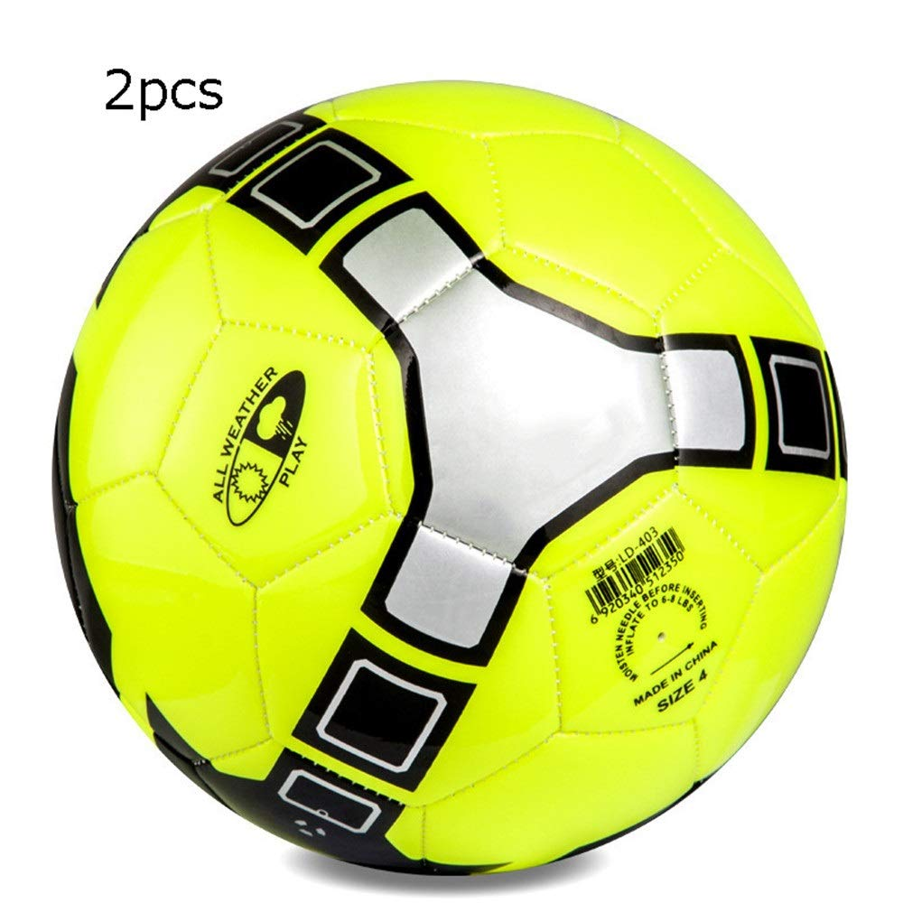 Jajx-os Kids Toys Soccer Children's Primary School Girls Boys Soccer Ball Adult Indoor and Outdoor Training Competition Football Official Size 5 4 for Outdoor Sport (Color : C4, Size : 4) by Jajx-os