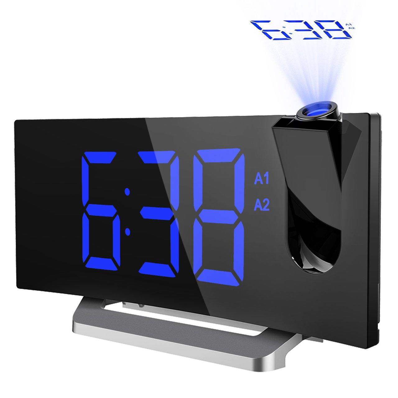 best rated in projection clocks helpful customer reviews amazon com rh amazon com brookstone projection alarm clock manual Time Projection Clock