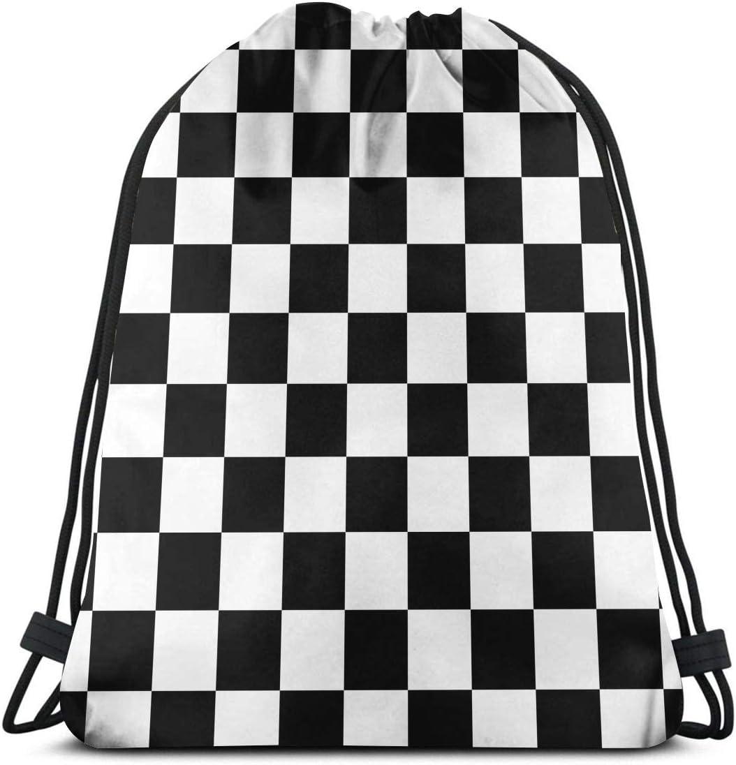 Cinch Sack Drawstring Backpack Plaid Back pack Bag OOAK Yoga bag Lightweight Carry-all Gym Bag Tartan Bag Red Bag