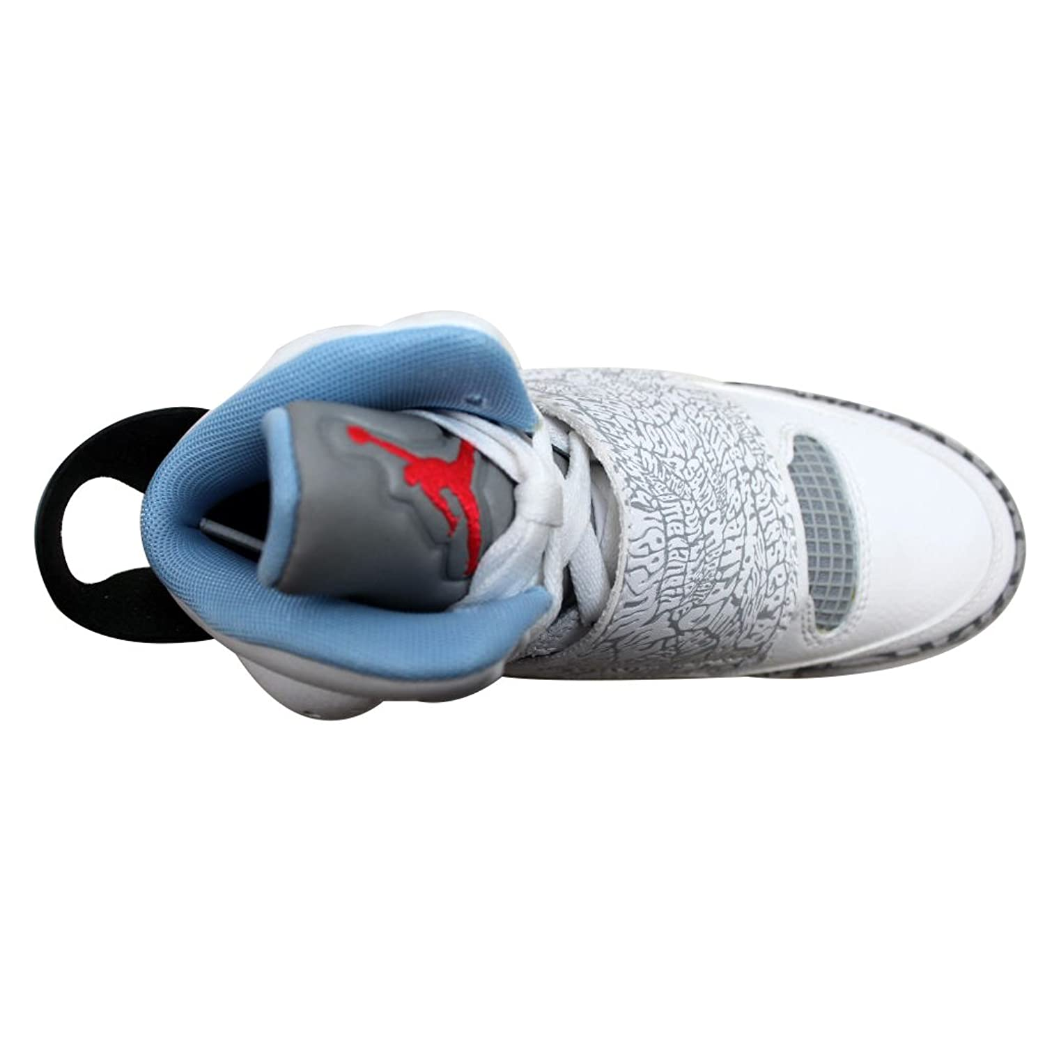 ... Amazon.com Nike Grade-School Air Jordan Son Of Mars WhitePrism Blue-Wolf  ... ca98c5cb9