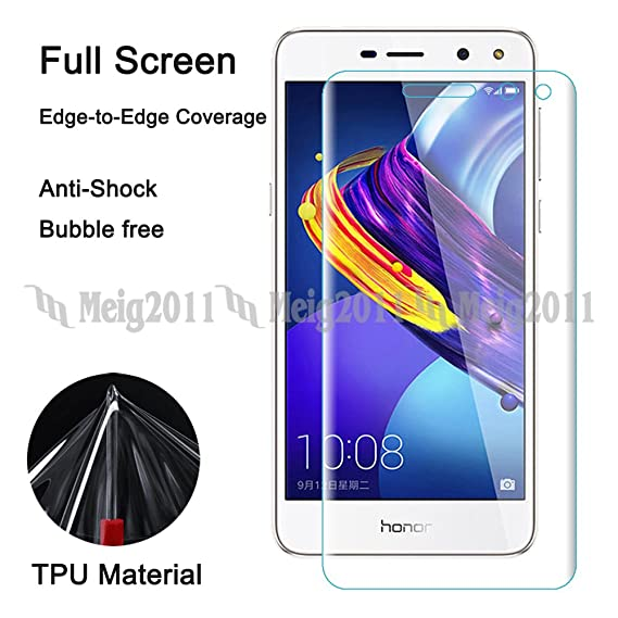 Amazon com: Full Cover Soft TPU Screen Protector Film for Huawei Y5