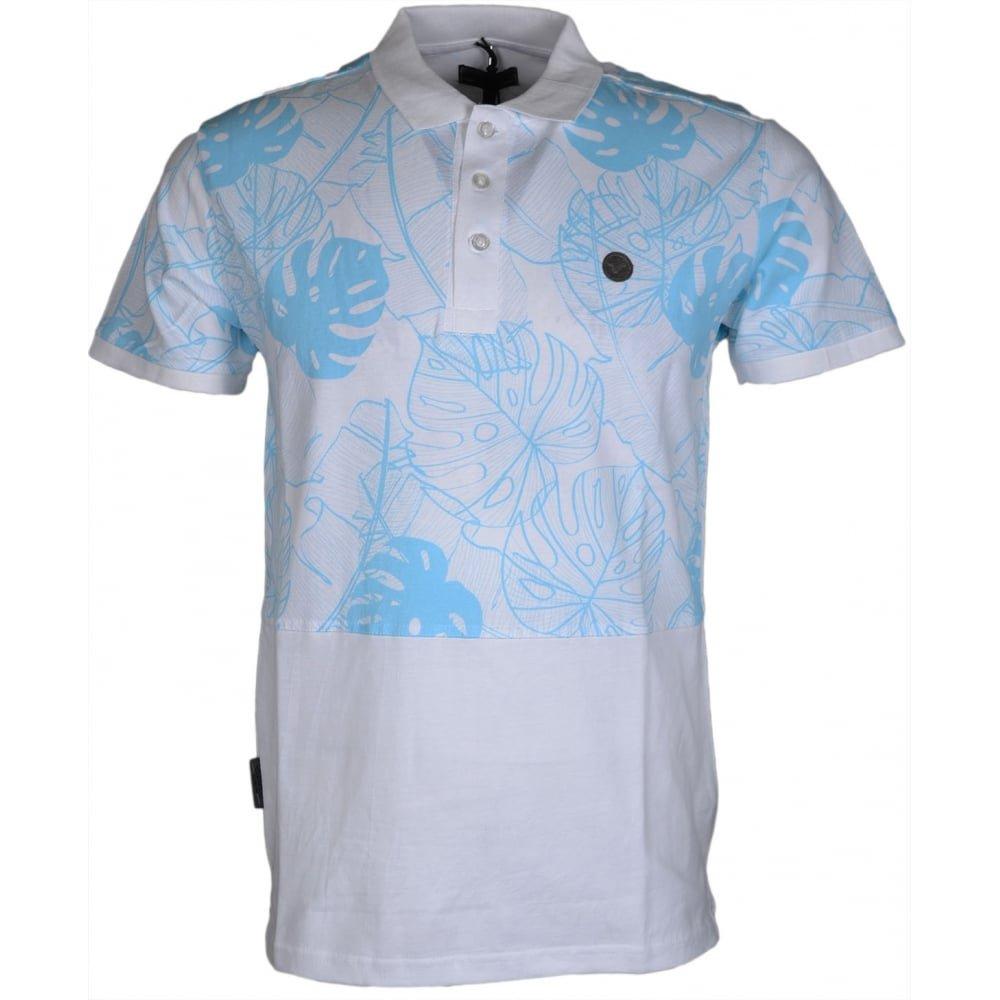 Voi Jeans Guava Printed White Polo