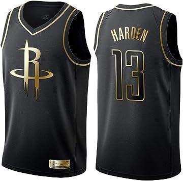GRYUEN Hombre Mujer Ropa de Baloncesto Houston Rockets 13# Harden ...