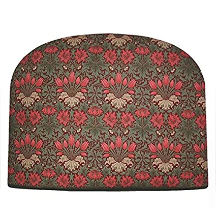 Amazon William Morris Red Tulip Teapot Cozy Tea Cosy Double