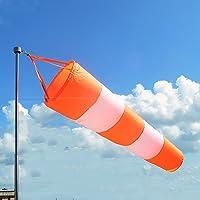 risingmed aeropuerto manga de viento rip-stop al aire