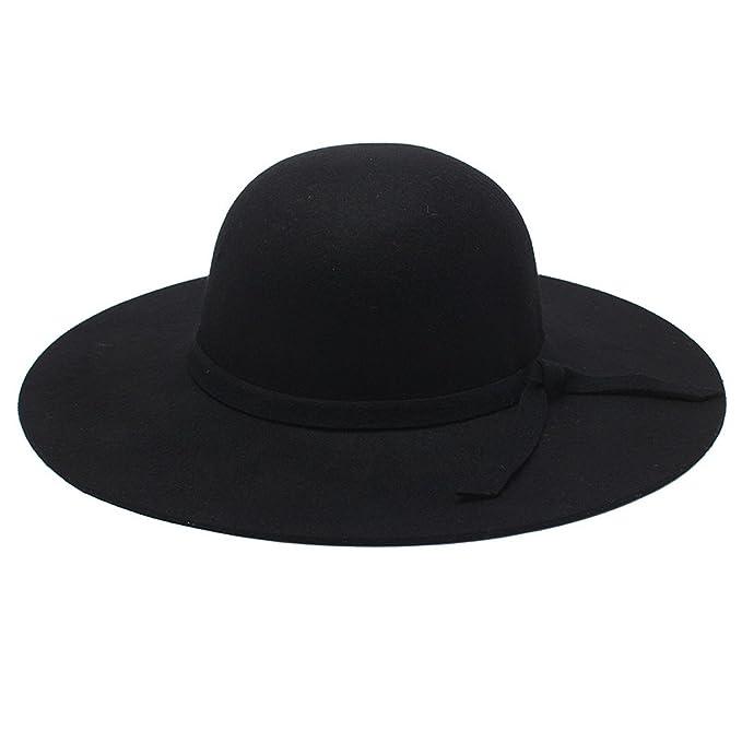 Directo de fábrica de las señoras de lana de invierno sombrero ...