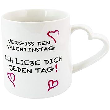 Sheepworld Tasse MIT DIR Kaffeebecher Kaffeetasse Liebe love Valentinstag