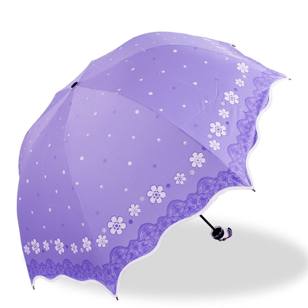 0d8fbdcd5462 Amazon.com: SX-ZZJ umbrella windproof Parasol UV Protection ...
