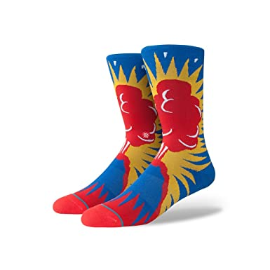 Stance Volcano Socks - Multi Large  Amazon.co.uk  Clothing 51099cf8c