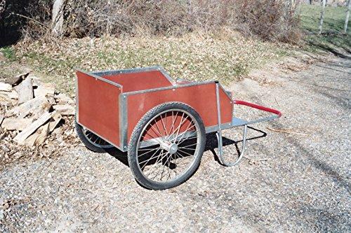 Homestead Garden Cart with metal bed liner. Heavy duty wh...