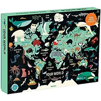 Mudpuppy Your World Puzzle (1000 Piece)