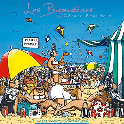 Calendrier 2019 Dessin Humoristique Bigoudenes Par L Artiste