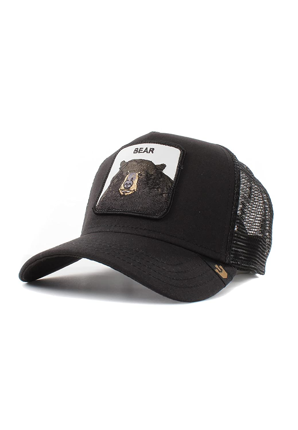 5132be7c Goorin Bros. Mens 'Black Bear' Bear Trucker Snapback Baseball Hat at Amazon  Men's Clothing store: