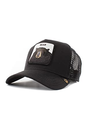 2302d25ea3795b Image Unavailable. Image not available for. Color: Goorin Bros. Mens 'Black  Bear' Bear Trucker Snapback Baseball Hat