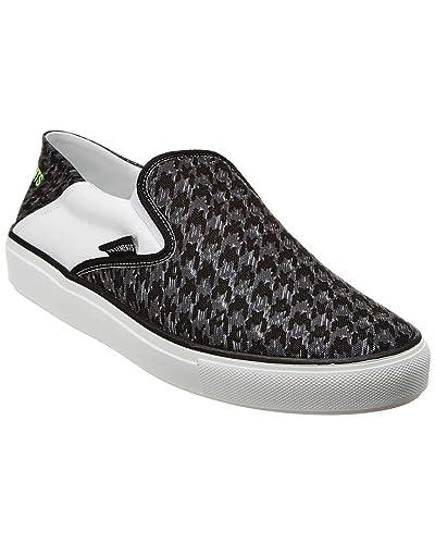 buy popular 948c9 b82f6 Amazon.com | Vetements Canvas Slip-On Sneaker, 43, Black ...