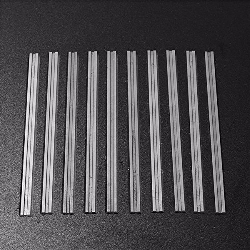 10pcs 82mm Carbide Planer Blade FOR DEWALT-MAKITA-BOSCH-B & D-HITACHI