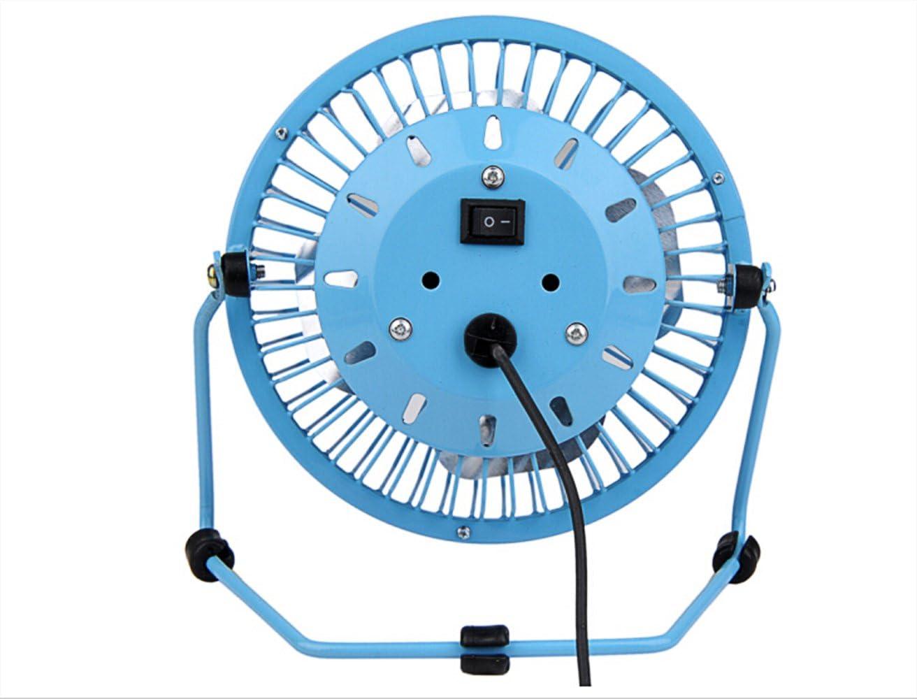 Metal Mini Protable PC Laptop USB Fan 360 Degree Rotation Ultra-quiet Summer Home Office Desk Electric Cooling Fan