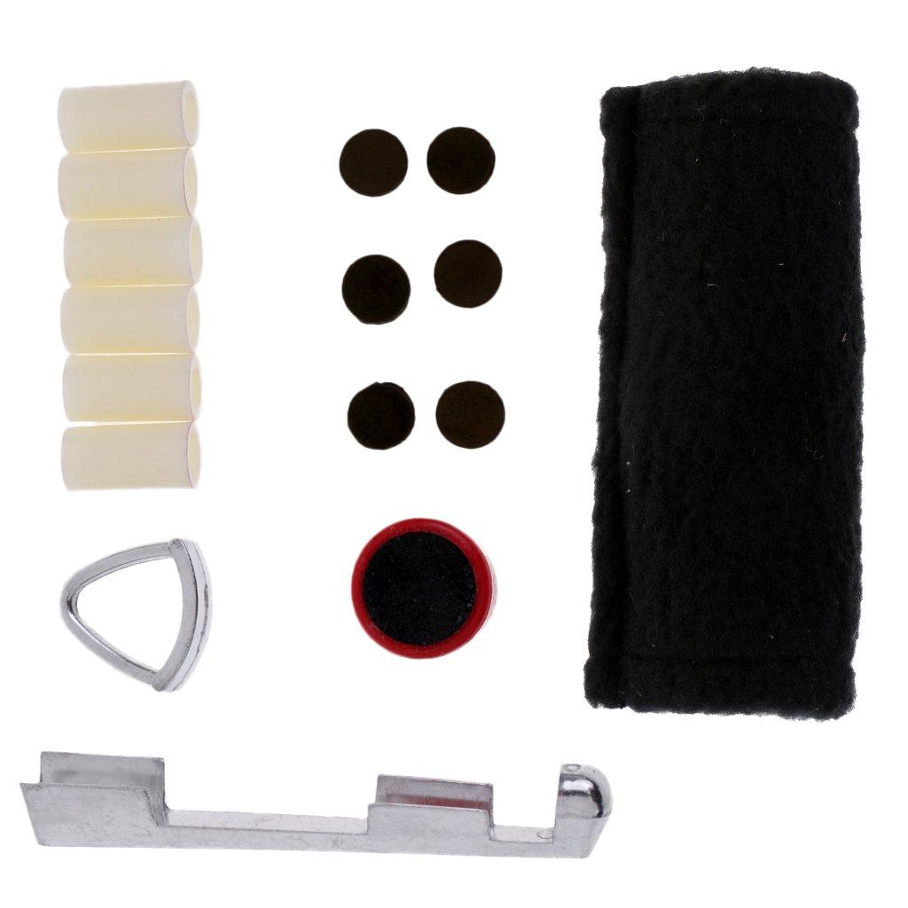 MagiDeal Kit de Réparation de Queue de Billard Snooker Avec Tissu de Nettoyage de Queue de Billard