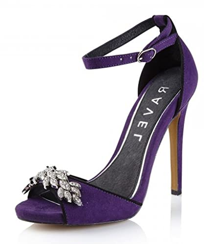 Glamorous High heeled sandals - purple FphfxDXsR