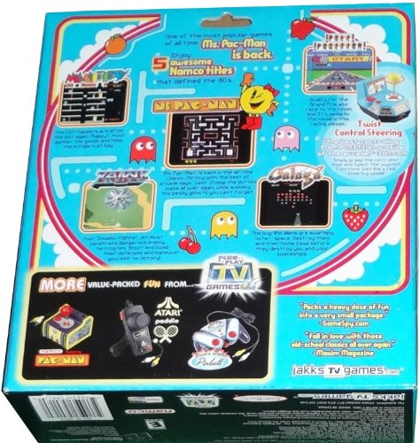 Tv Games Plug Into : Ms pac man and friends plug play tv games electronics