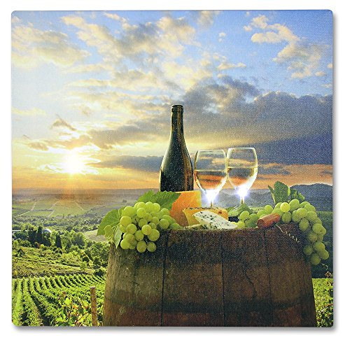 Banberry Designs Tuscan Wall Art Led Canvas Print With A