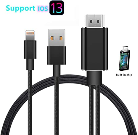 Ublue - Cable Adaptador Compatible con iPhone iPad a HDMI ...
