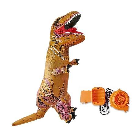 Folconauto Disfraz Hinchable de Dinosaurio Halloween, Eventos ...