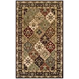 Blue Nile Mills Palmyra 4′ x 6′ Area Rug, Contemporary Living Room & Bedroom Area Rug, Anti-Static and Water-Repellent for Residential or Commercial Use, 4-feet By 6-feet For Sale