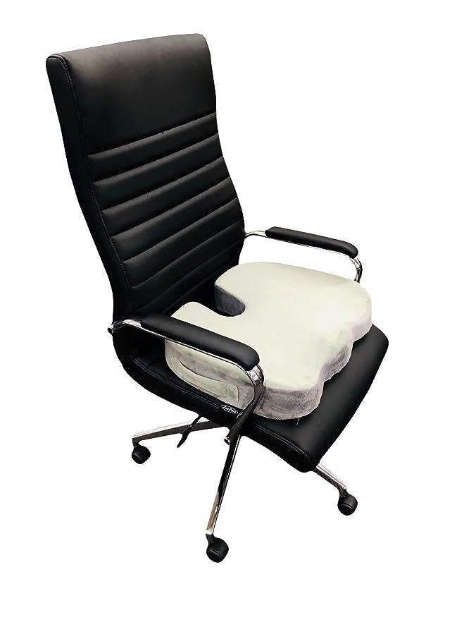 Amazon.com: ortopédica Espuma de memoria cojín para silla de ...