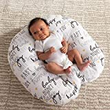 Boppy Original Newborn Lounger, Hello Baby Black