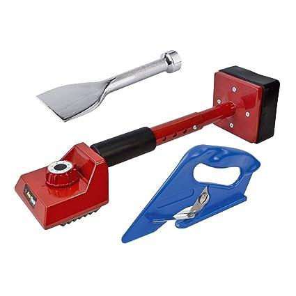 3 pieza kit de herramienta para fijación de moquetas (– Tensor, Bolster Y cortador