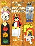 img - for Plastic Canvas Fun Doorknob Hangers. #3102. book / textbook / text book