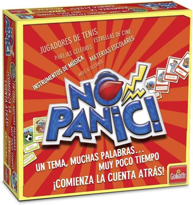 Goliath - Juego No Panic Un Tema, Muchas Palabras Y Poco Tiempo ...