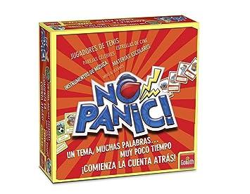 Goliath - Juego No Panic Un Tema, Muchas Palabras Y Poco Tiempo 118-70317: Amazon.es: Juguetes y juegos