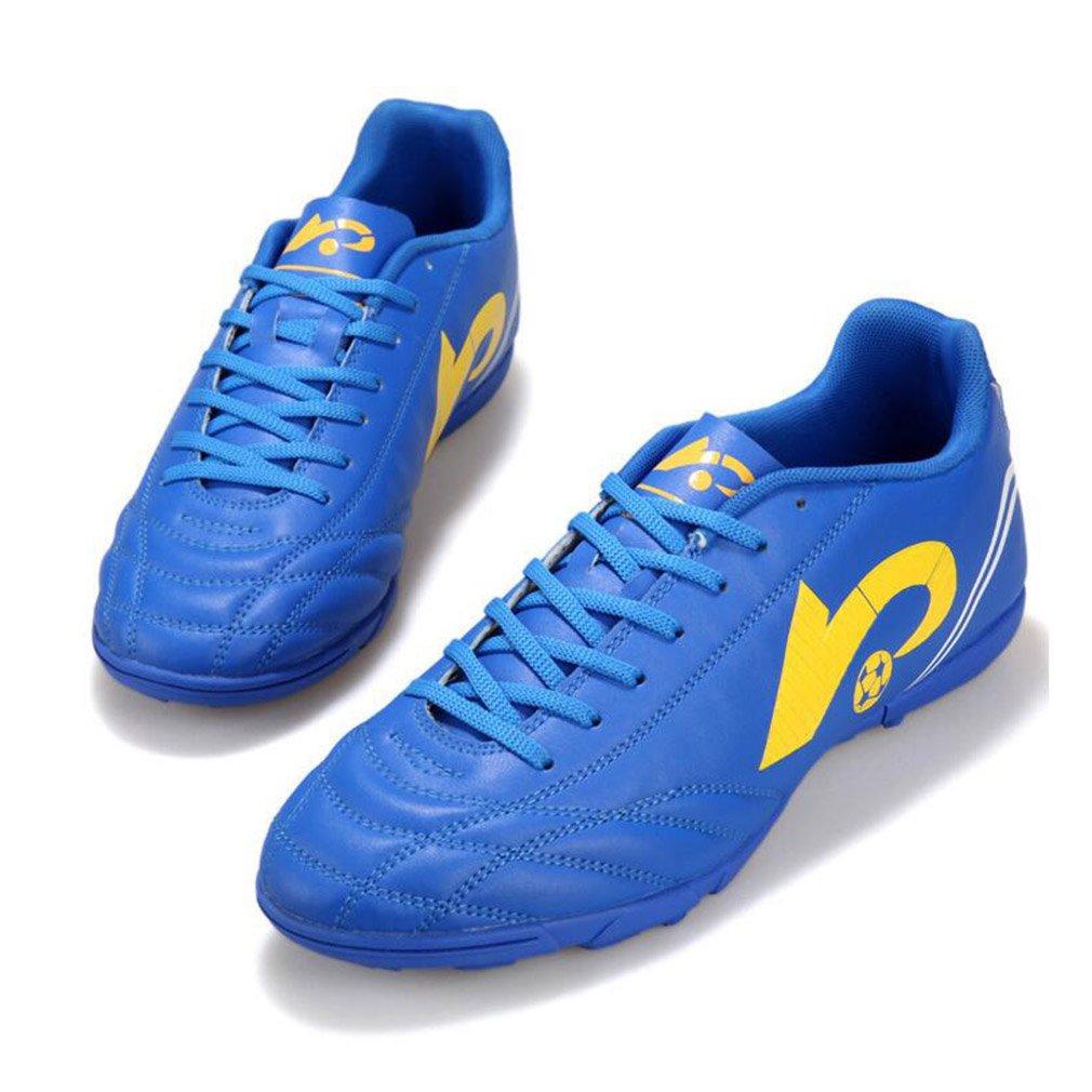 hibote Zapatos de Entrenamiento de f/útbol de los Hombres Zapatillas de f/útbol para Hombres Chicos Botas de f/útbol al Aire Libre Zapatos de f/útbol Profesional de la espinilla Hombres Tacos atl/éticos