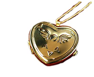 amazon com undertale collectors edition heart shaped musical locket