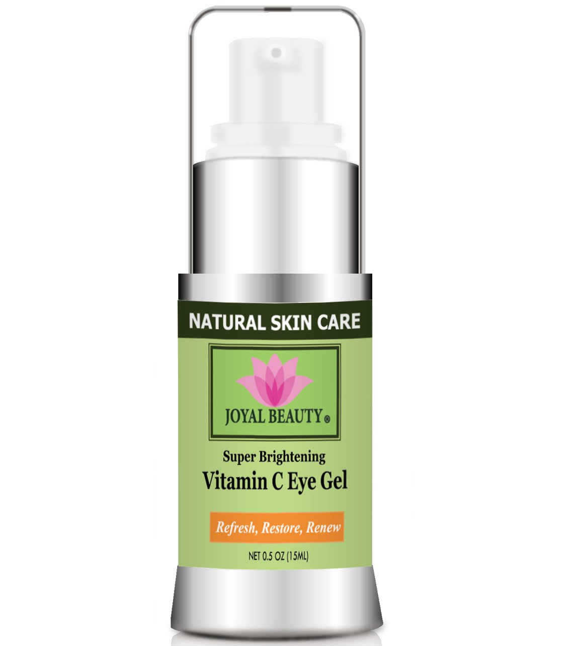 Joyal Beauty Best Organic Eye Cream Gel Moisturizer for Dark Circles and Puffiness Bags Anti Aging Fine Lines and Wrinkles with Hyaluronic Acid Vitamin C Caffeine Peptide Cucumber for Men and Women by Joyal Beauty (Image #7)