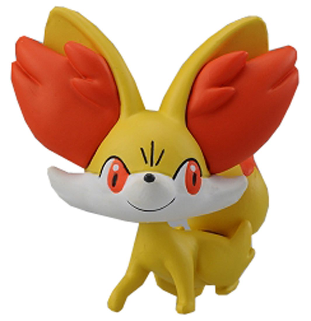 amazoncom takaratomy official pokemon x and y mc 006 2 fennekinfokko action figure toys games