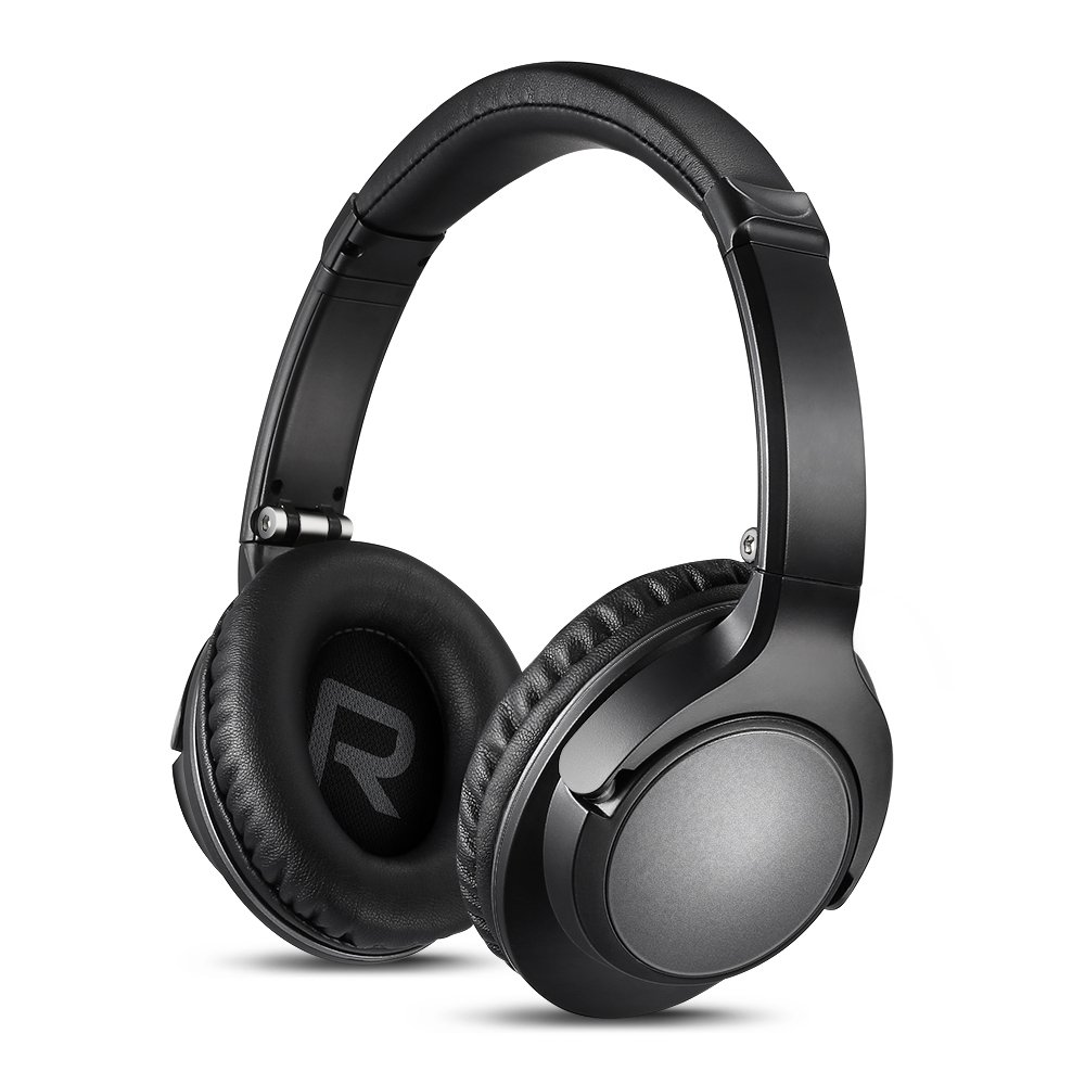 Foldable Bluetooth Headphones Comfortable HiFi Stereo Wireless Headset with Deep Bass Built in Mic Best Adjustable Headphones for Relax Travel Work 12H Playtime
