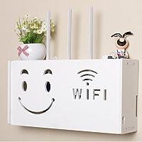yazi Wifi Router Shelf TV Set-top Rack Wall