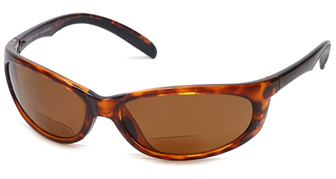 5f223ec10f2 Grand Banks 475BF Polarized Bi-Focal Rimless Reading Sunglasses in Tortoise  +1.50