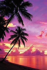 Pyramid America Tahitian Sunset Photo Photograph Cool Wall Decor Art Print Poster 24x36