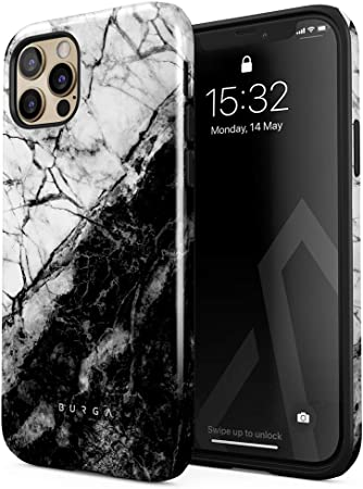 Burga Hülle Kompatibel Mit Iphone 12 Pro Weiß Und Elektronik