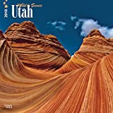 Utah, Wild & Scenic 2018 12 x 12 Inch Monthly Square Wall Calendar, USA United States of America Rocky Mountain State Nature