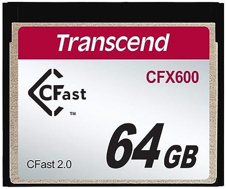 Transcend 64GB CFX600 CFast 2.0 Memoria Flash SATA MLC ...