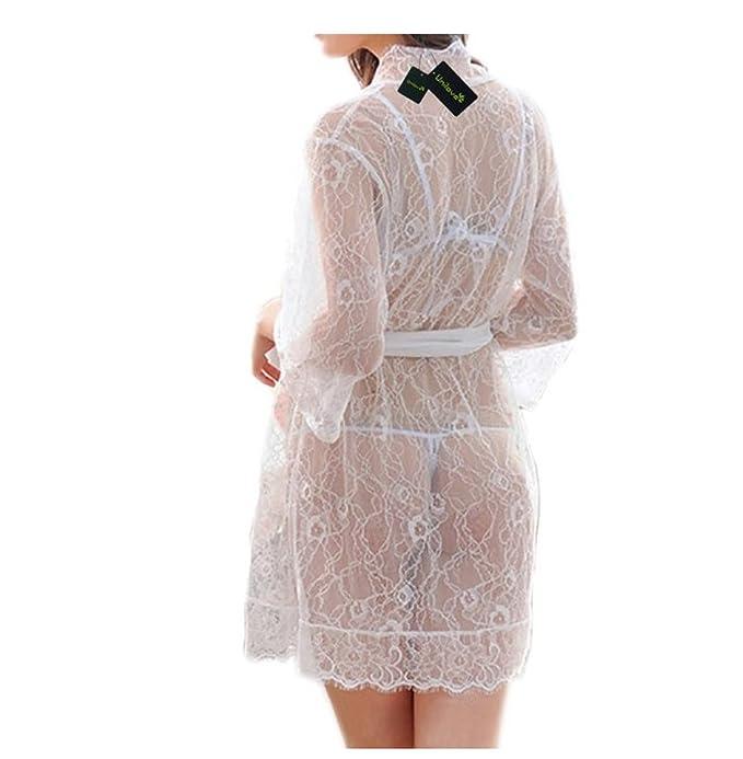 GSHGA Pijama Atractivo Del Cordón Del Traje De Las Mujeres: Amazon.es: Ropa y accesorios