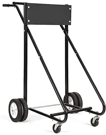 amazon engine hoists stands vehicle lifts hoists jacks 1980 Chevy Camaro goplus 315 lbs outboard boat motor stand carrier cart dolly storage pro heavy duty